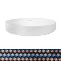1-1/2 Inch Picture Quality Polyester Webbing Metal Weave