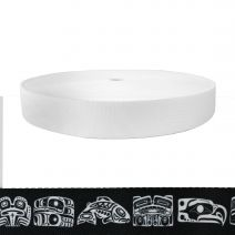 1-1/2 Inch Picture Quality Polyester Webbing Northwest Totem