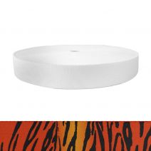 1-1/2 Inch Picture Quality Polyester Webbing Tiger