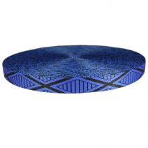 1-1/2 Inch Picture Quality Polyester Webbing Tiki Blue