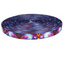 1-1/2 Inch Picture Quality Polyester Webbing Universe