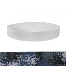1-3/4 Inch Picture Quality Polyester Webbing Camouflage Digital Blue