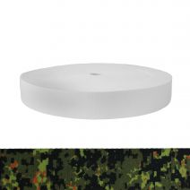 1-3/4 Inch Picture Quality Polyester Webbing Camouflage Digital Jungle
