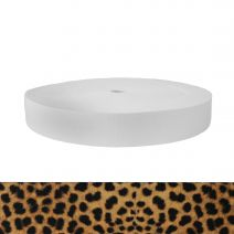 1-3/4 Inch Picture Quality Polyester Webbing Leopard