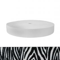 1-3/4 Inch Picture Quality Polyester Webbing Zebra