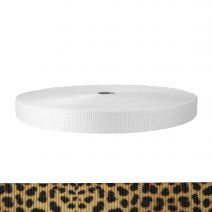 1 Inch Utility Polyester Webbing Leopard