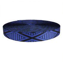 1 Inch Utility Polyester Webbing Tiki Blue
