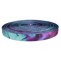 1 Inch Utility Polyester Webbing Wicked Purple