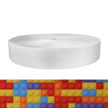 2 Inch Utility Polyester Webbing Color Blox