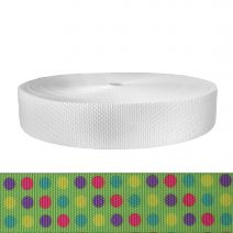 2 Inch Utility Polyester Webbing Candy Dots