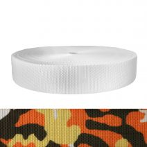 2 Inch Utility Polyester Webbing Camouflage Autumn