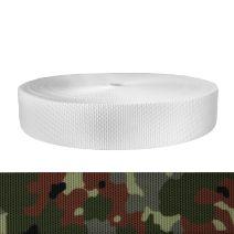2 Inch Utility Polyester Webbing Camouflage Flecktarn