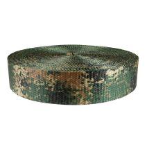 2 Inch Utility Polyester Webbing Camouflage Jarhead