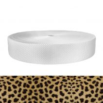 2 Inch Utility Polyester Webbing Leopard