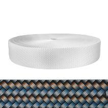2 Inch Utility Polyester Webbing Metal Weave