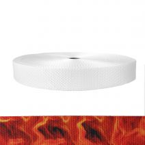 1-1/2 Inch Utility Polyester Webbing Blaze