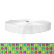 1-1/2 Inch Utility Polyester Webbing Candy Dots