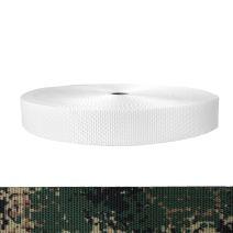 1-1/2 Inch Utility Polyester Webbing Camouflage Jarhead
