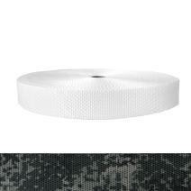 1-1/2 Inch Utility Polyester Webbing Camouflage Digital Dark