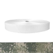 1-1/2 Inch Utility Polyester Webbing Camouflage Digital Grunt