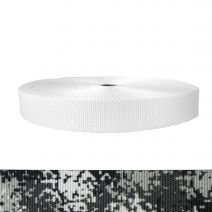 1-1/2 Inch Utility Polyester Webbing Camouflage Digital Winter