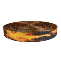 1-1/2 Inch Utility Polyester Webbing Fire