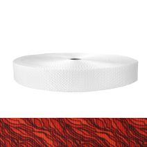1-1/2 Inch Utility Polyester Webbing Hot Lava