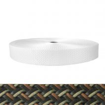 1-1/2 Inch Utility Polyester Webbing Leather Weave