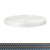 1 Inch Tubular Polyester Metal Weave