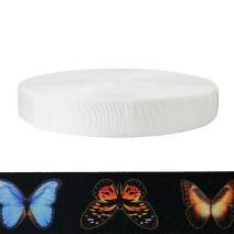 2 Inch Tubular Polyester Butterflies