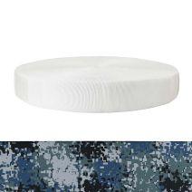 2 Inch Tubular Polyester Camouflage Digital Blue