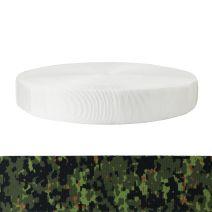 2 Inch Tubular Polyester Camouflage Digital Jungle