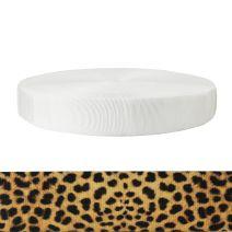 2 Inch Tubular Polyester Leopard