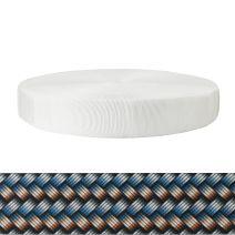 2 Inch Tubular Polyester Metal Weave