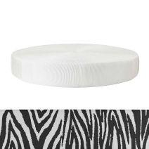 2 Inch Tubular Polyester Zebra