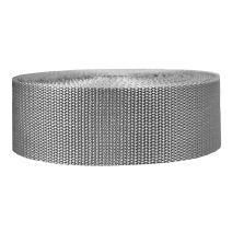 2 Inch Heavyweight Polypropylene Silver Gray