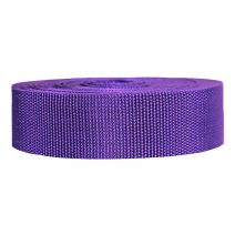 1-1/2 Inch Heavyweight Polypropylene Purple