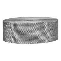2 Inch Lightweight Polypropylene Silver Gray