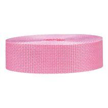 1-1/2 Inch Lightweight Polypropylene Pink