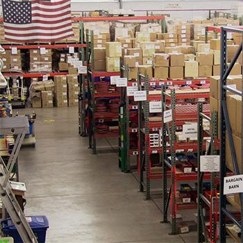 Strapworks warehouse interior